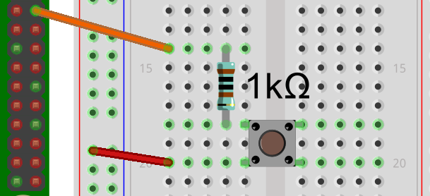 Taster mit GPIO verbunden ohne pulldown