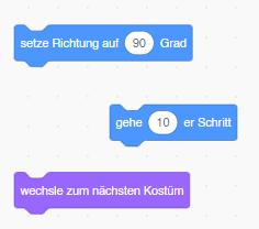 Scratch-Anweisungen