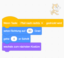 Scratch-Programm